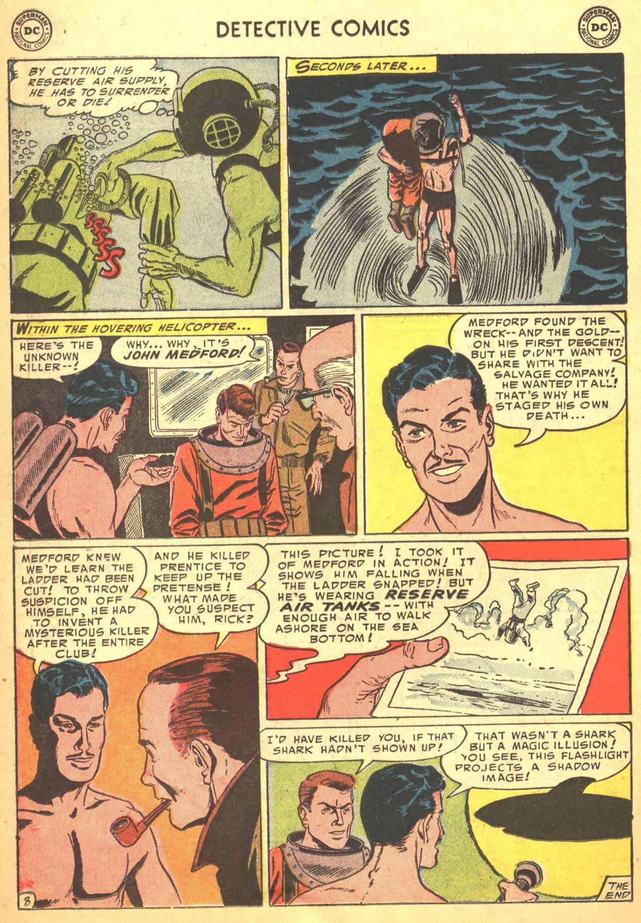 Read online Detective Comics (1937) comic -  Issue #206 - 29