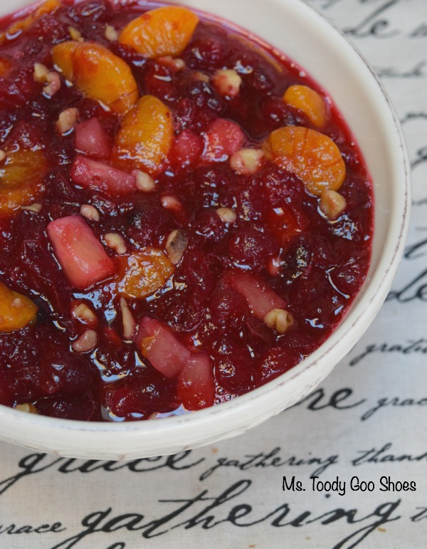 Cranberry (Awesome)sauce! A simple Thanksgiving side dish! - Ms. Toody Goo Shoes #Thanksgiving #Cranberries