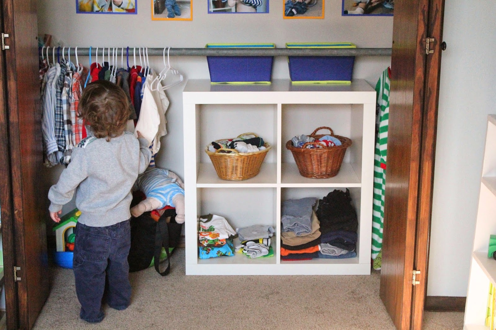 Laundry Room Organization Ideas Montessori Toddler Closet