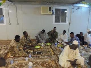 Pasukan Garuda Buka Puasa Bersama Masyarakat dan Organisasi Pemerintahan di Sudan