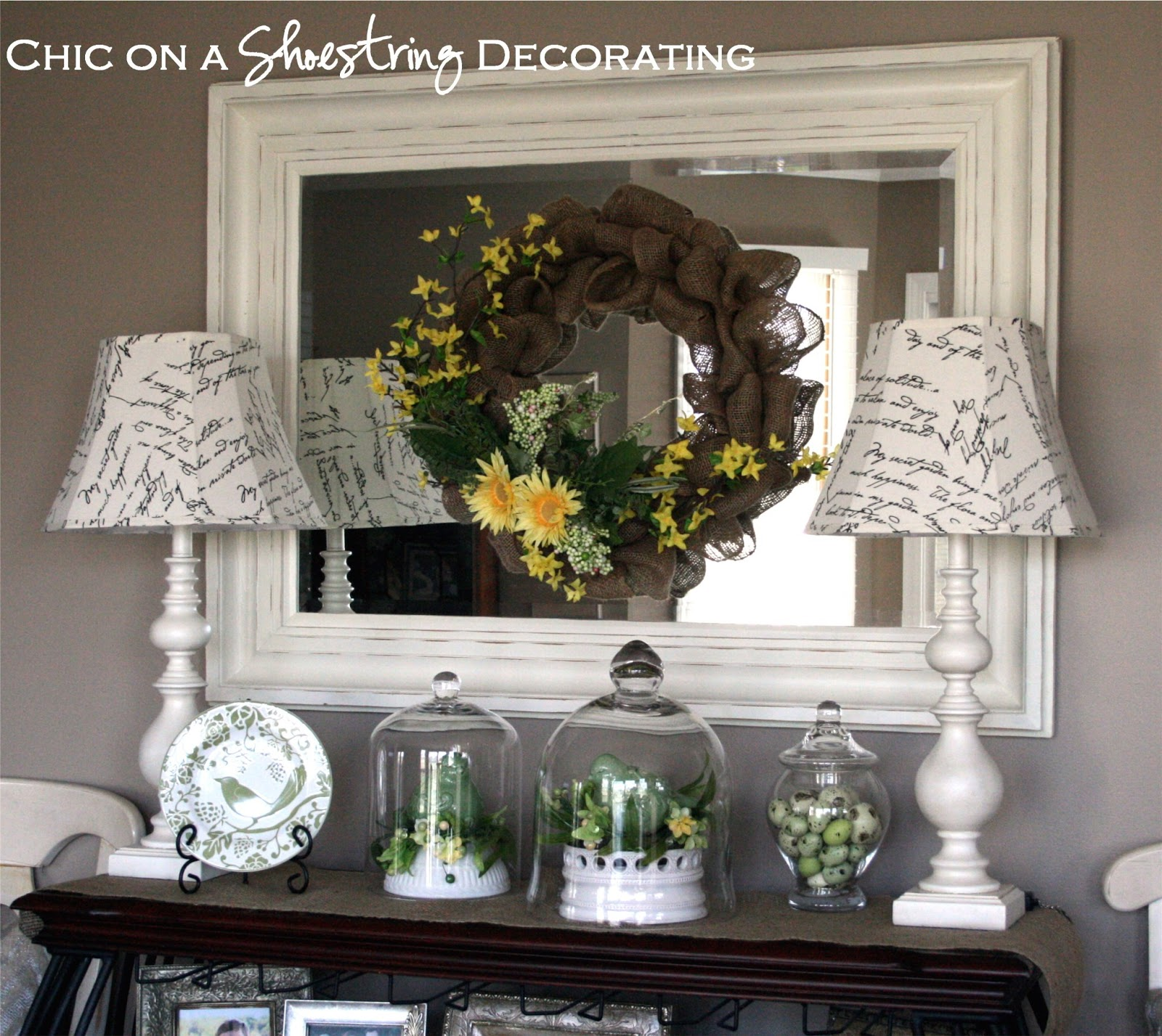Spring Decorating: Chic On A Shoestring Decorating: Spring Decor, A Kitchen