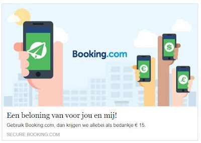 Booking.Com korting
