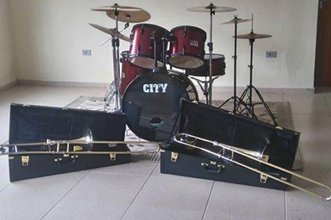 Prefeitura de Registro-SP adquire Trombones e Bateria para as oficinas da Secretaria de Cultura