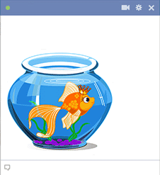 Cute Goldfish Icon