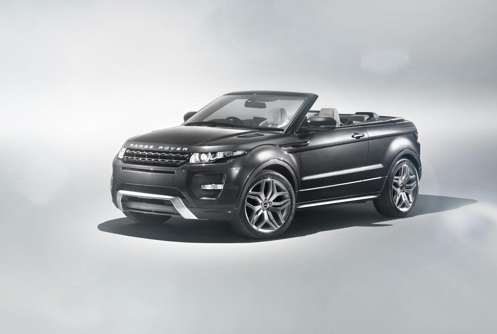 Cabrio Range Rover Evoque :/ - cars & life blog | cars