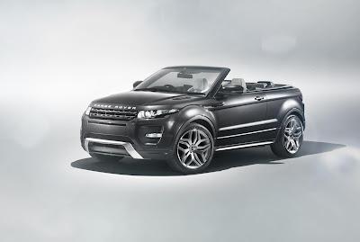 Cabrio Range Rover Evoque :/