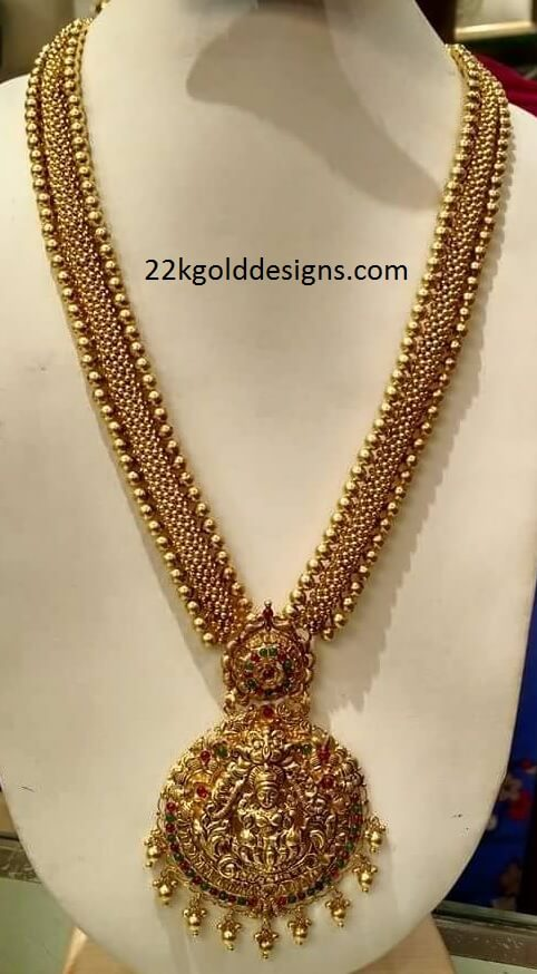 Gold Tussi Long Chain
