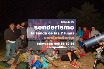 Senda de las 7 Lunas, de Septiembre, con el grupo de senderismo - escapadillas.com