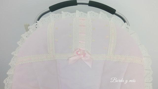 colchoneta bugaboo puntillas rosa
