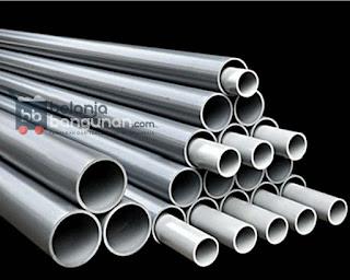Sedia Berbagai Macam Jenis Ukuran PIPA PVC Dari yang berdiameter kecil hingga diameter besar