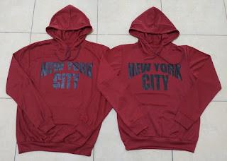 Jual Online Jumper NY City Couple Murah Jakarta Bahan Babytery Terbaru