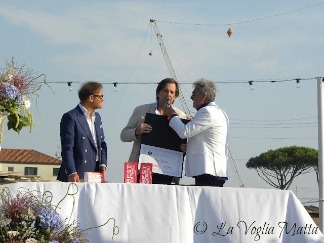 """Premiazione Awards Best Gourmet 2017  e """"Seven"""" Gran Cena di Gala  dell'Alpe Adria  """"Terrazza Mare Marcandole"""" a Jesolo"""