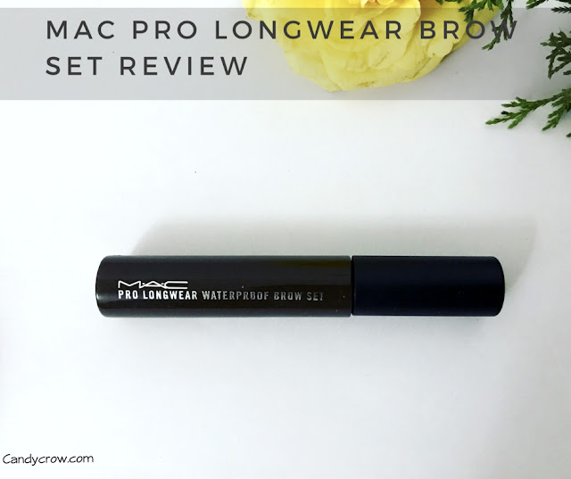 MAC PRO Longwear Brow Set - Brown Ebony Review photos