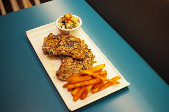 grilled pork chop review singapore