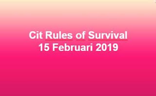 Link Download File Cheats Rules of Survival 15 Feb 2019