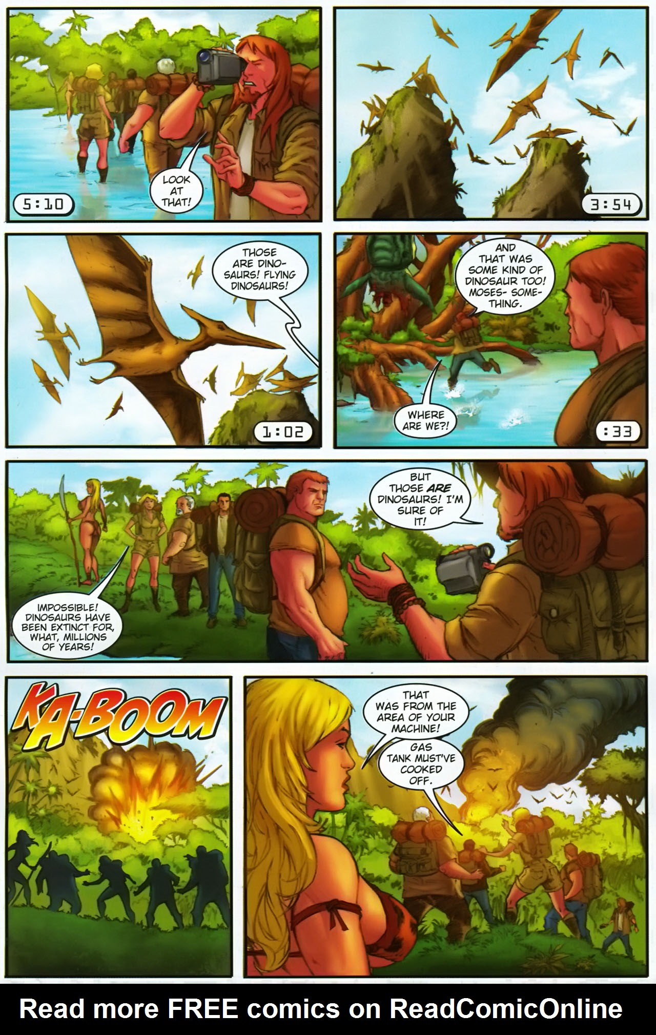 Read online Jungle Girl comic -  Issue #1 - 23