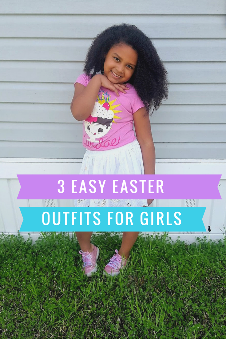 LIFESTYLE: 3 Easy Easter Outfits for Girls (Español)   Queen ...