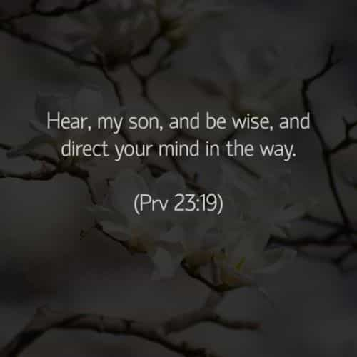 Bible verses and quotes about wisdom