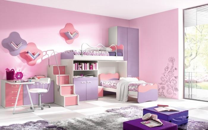 Hogares Frescos: 100 Diseños de Habitaciones para Niñas: Consejos y ...