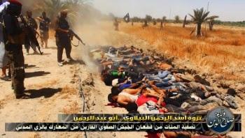 Hundratals sags ha massakrerats
