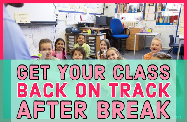 Nervous about the first day back to school after winter break in January? Here are 5 simple classroom management and organization tips to help make the transition smooth for you and your students! Perfect for primary teachers. #GlitterinThird #classroommanagement #backtoschool