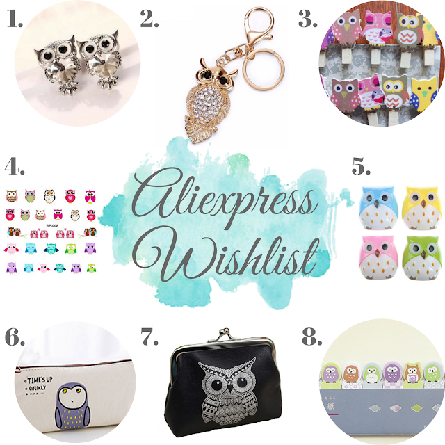 ALIEXPRESS WISHLIST | OWLS