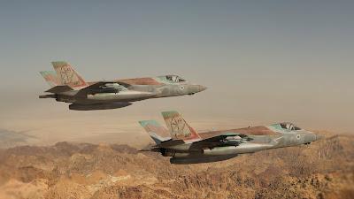 Mais 2 F-35 chegam a Israel