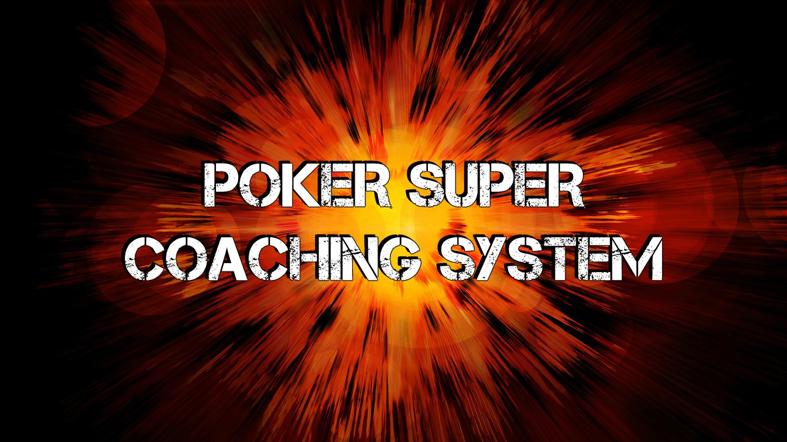 Poker coaching online