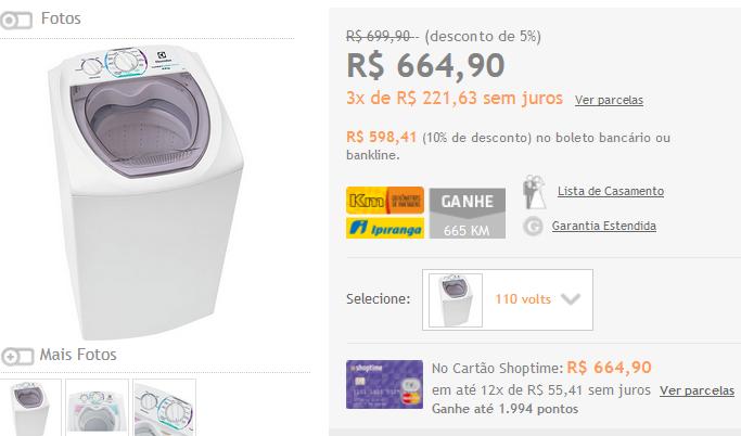 http://www.shoptime.com.br/produto/113999412/lavadora-de-roupas-electrolux-6kg-ltd06-turbo-economia-branco?loja=01&opn=AFLSHOP&franq=AFL-03-171644&AFL-03-171644