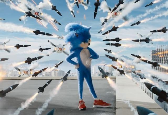 """Cartazes inéditos de """"Sonic: O Filme"""" acompanham o ouriço velocista em um passeio"""