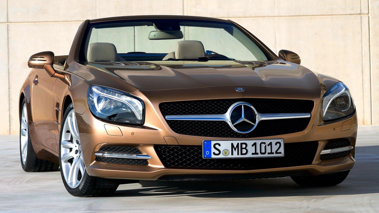 All New Mercedes Benz Sl Flagship Roadster