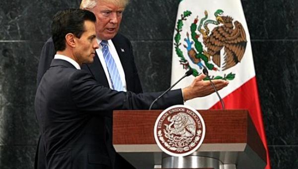 México no pagará por un muro con EE.UU., reitera Peña Nieto
