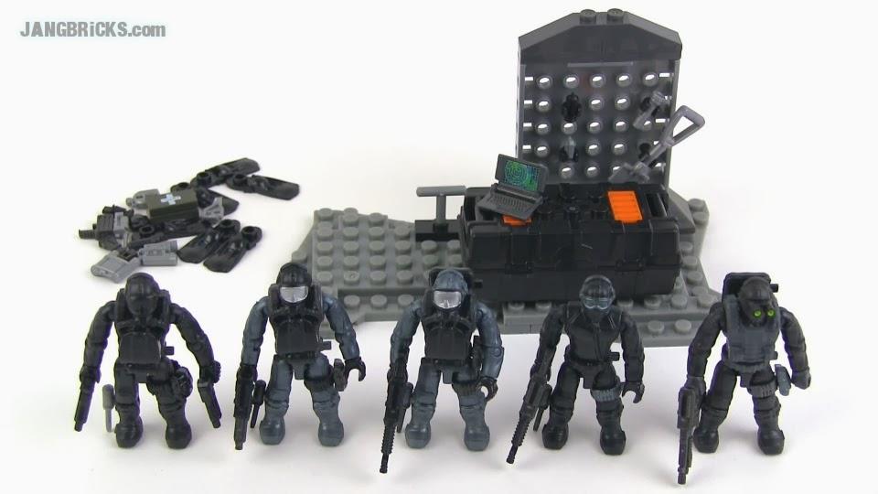 Jangbricks Lego Reviews Mocs Mega Bloks Call Of Duty Seal Team Set Review