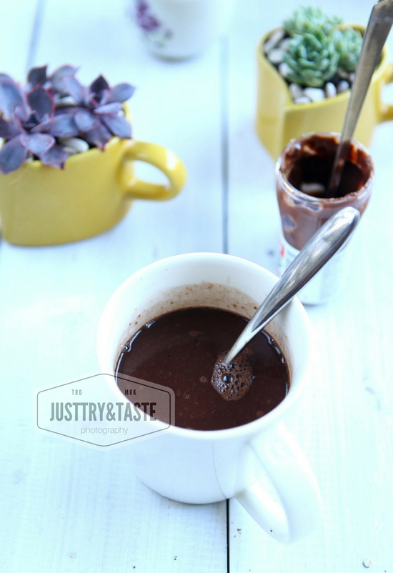 Resep Chocolate Hazelnut Latte