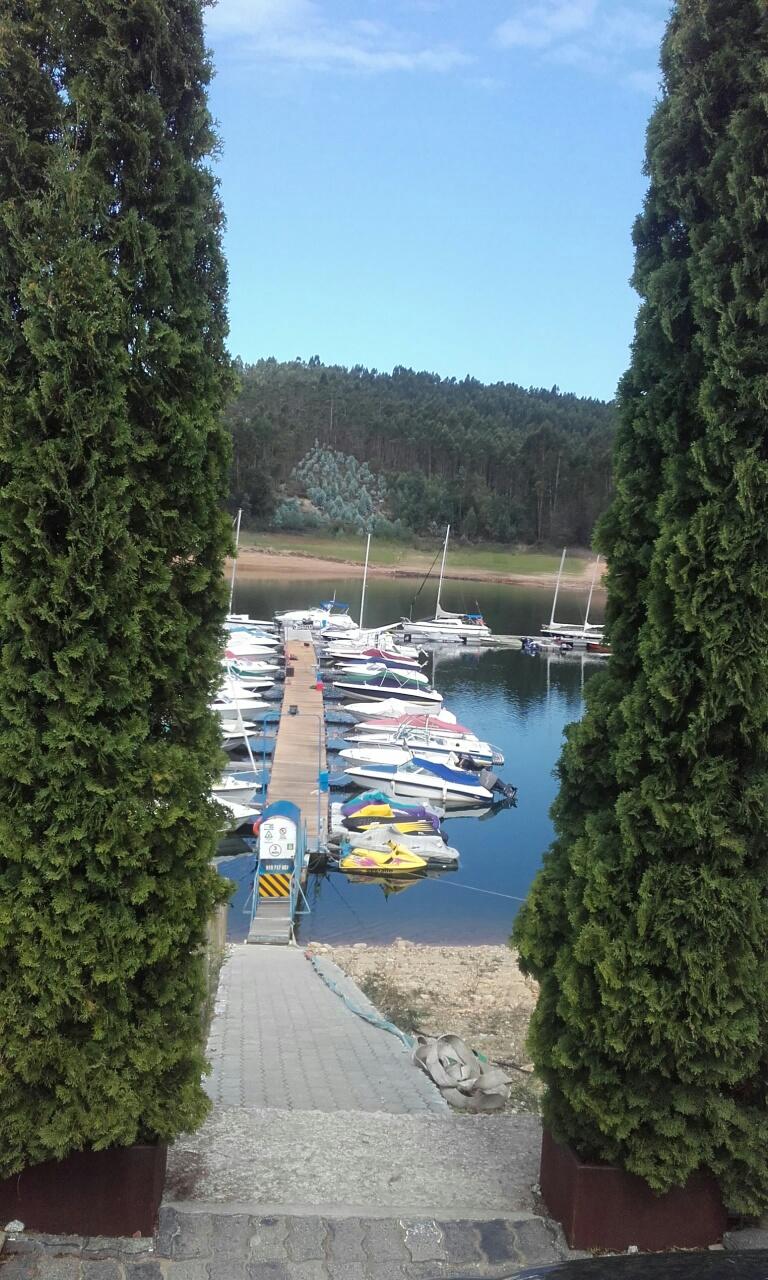 Barcos na Marina de Pinheiro de Ázere