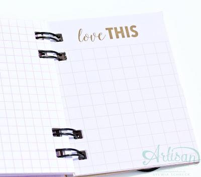 Notizbuch-Etwas Süßes-Stampin up