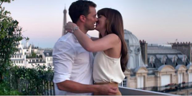 Fifty Shades Freed Christian Grey and Anastasia