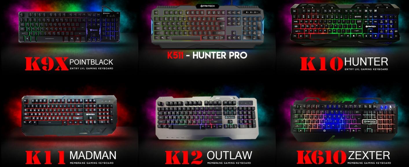 Fantech Philippines Budget Gear Brawl Contender Tech Gabster Keyboard Gaming K12 Outlaw Mechanical