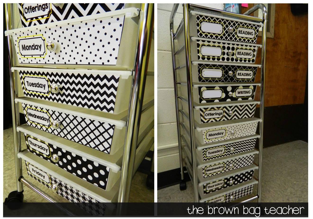 Classroom Organization and Set-Up Ideas - The Brown Bag Teacher