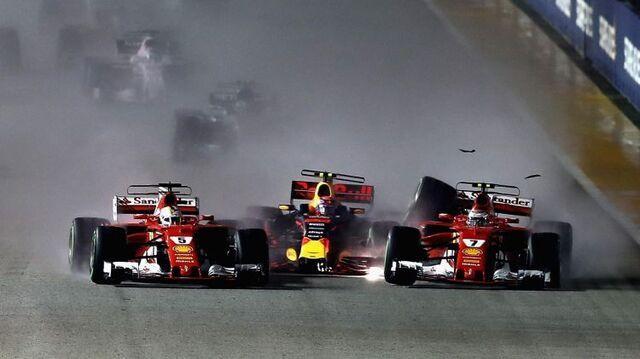 Формула-1: Гран-при Сингапура. Гонка (22.09.2019) смотреть онлайн. Прямая трансляция