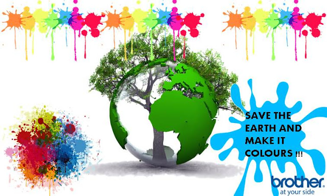 Save The Earth and Make It Colours With Brother Printer - Blog Mas Hendra