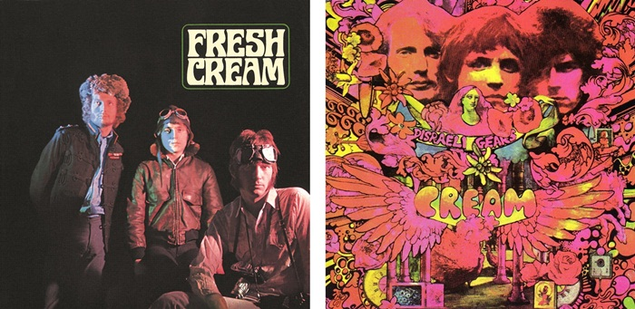 Fresh Cream e Disraeli Gears