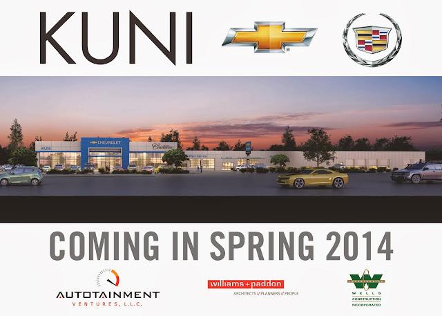 Chevy Dealership Sacramento >> New Construction Starts On Kuni Chevrolet Cadillac ~ W+P SKETCHBOOK
