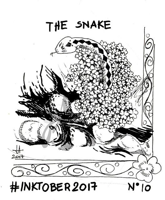 inktober-lucyowlart-snake-ink-luciaalocchiart