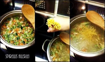 Schritt für Schritt zur Suppe