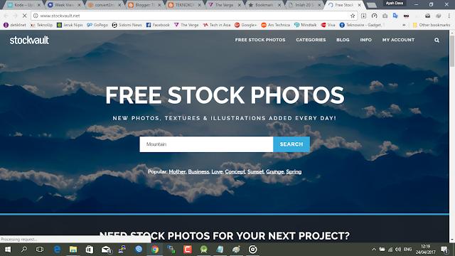 20 Situs download penyedia foto dan gambar gratis terbaik