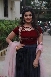Actress Aathmika in lovely Maraoon Choli ¬  Exclusive Celebrities galleries 007.jpg