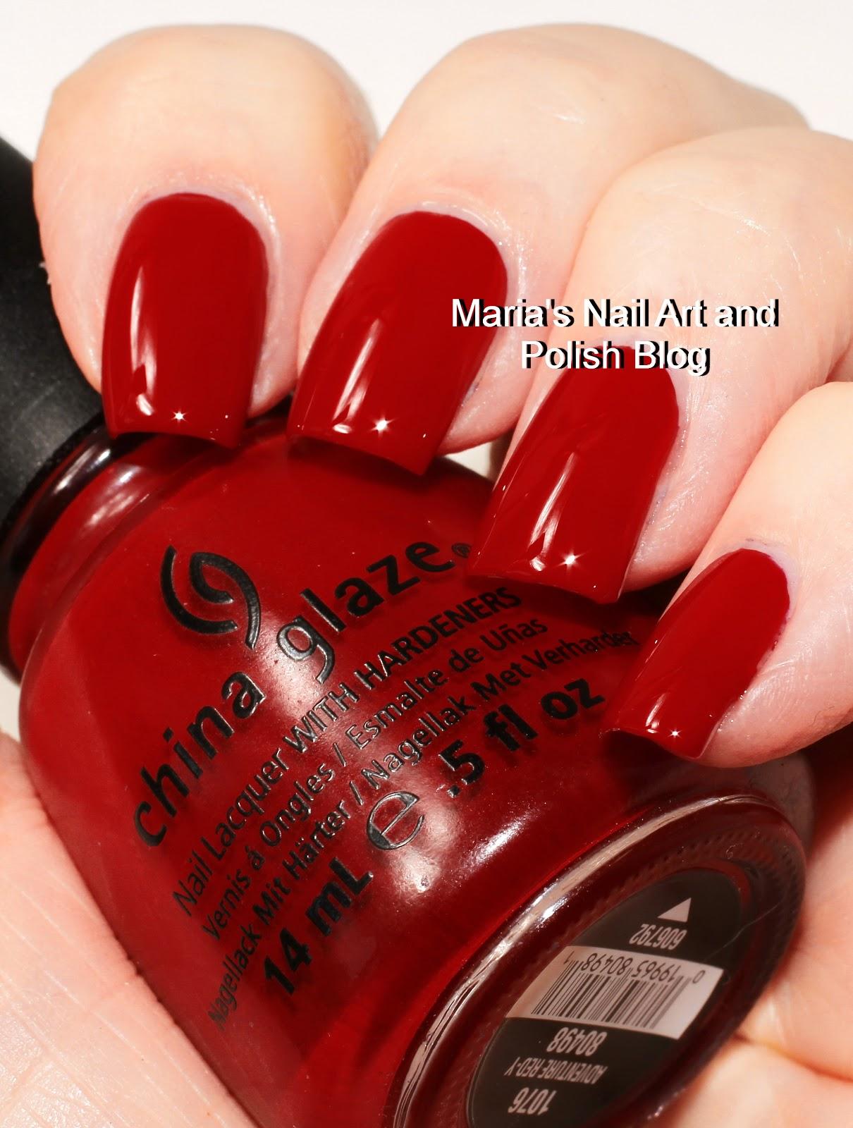 China Glaze Presenta Crakle Glaze: Marias Nail Art And Polish Blog: China Glaze Four Shades