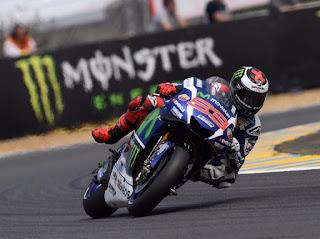 JORGE LORENZO Besok Start Terdepan Di Sirkuit GP Perancis 2016