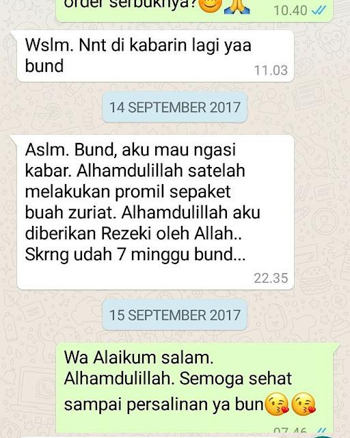 Testimony Hamil Serbuk Kurma